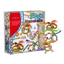 SadoCrafts Plush Braid Bracelet Kit