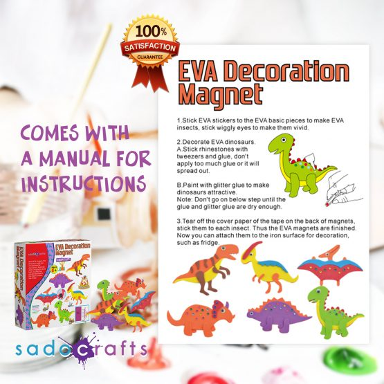 SadoCrafts EVA Decoration Magnet Kit