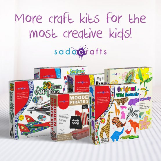 SadoCrafts Funny Folding Paper Kit
