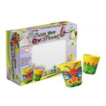 SadoCrafts Flower Pots Painting Kit