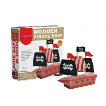 SadoCrafts Wooden Pirate Ship Kit