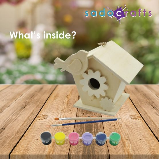 Sadocrafts Paint Your Own Birdhouse