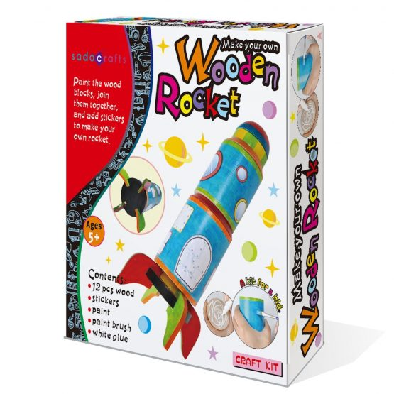SadoCrafts Paint Your Own Rocket